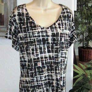 Womens Plus Size Top Simply Vera 3X 24 26 28 Shirt